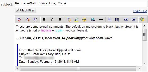 screen shot of Yahoo!